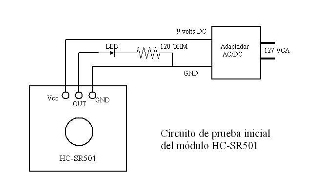 Pruebas Al Modulo Sensor Pasivo Infrarrojo Pir Hc Sr501