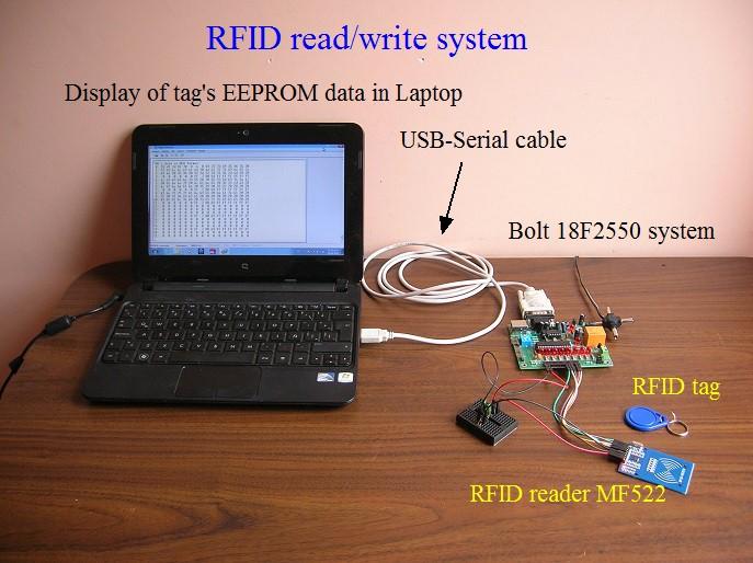 Rfid Rc522 Read Write Rfid Module 13 56 Mhz Iso 14443a Tag